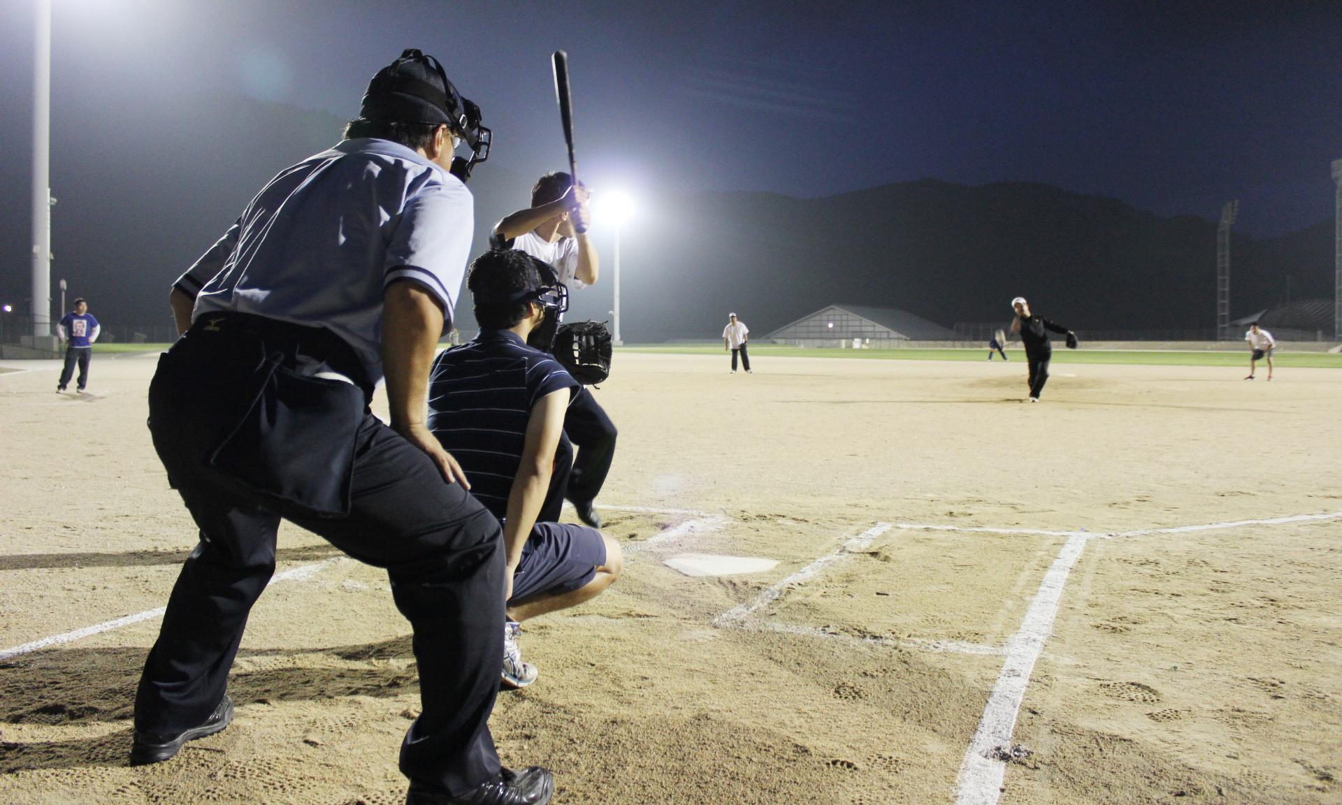 萩商工会議所 会員事業所対抗ソフトボール大会